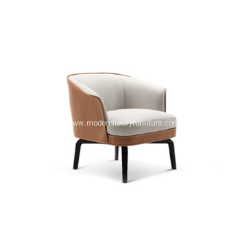 Poltrona Frau Nivola Leather Armchair